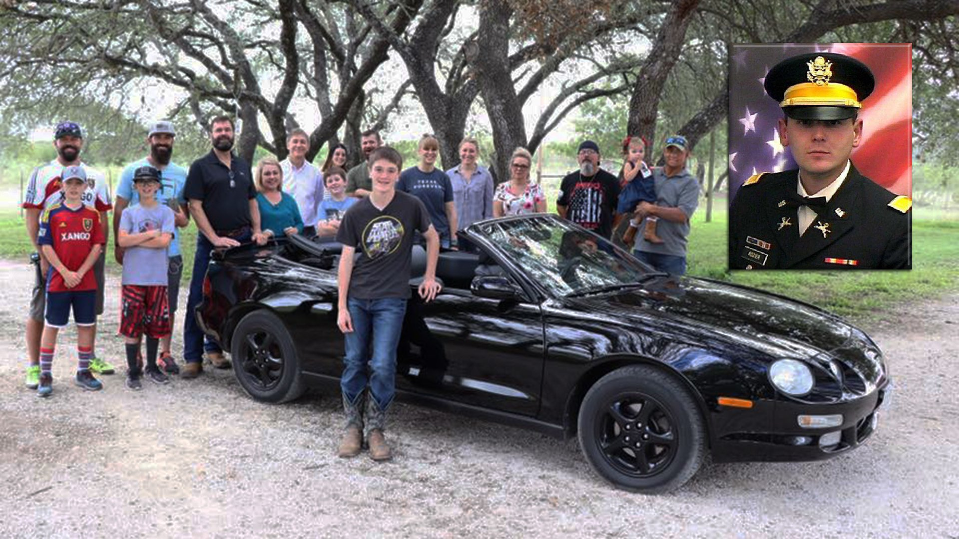 Widow Tracks Down Fallen U.S. Soldier's Old Toyota Celica to Surprise Teenage Son