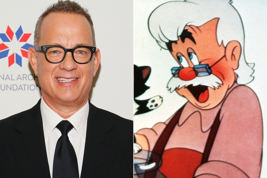 Tom Hanks Is in Talks to Play Geppetto in Live-Action Disney Film Pinocchio