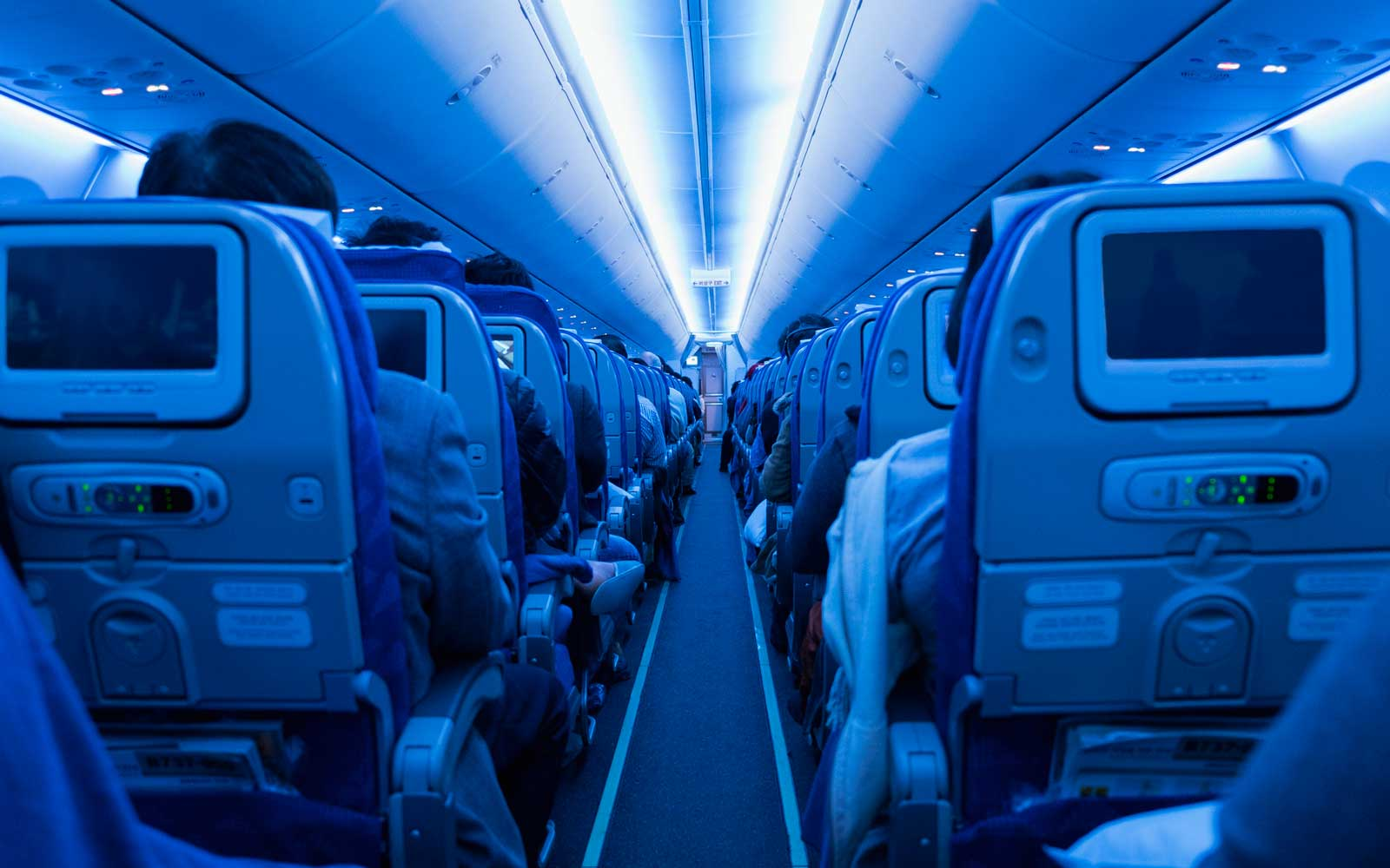 How Airplane Lights are Designed to Affect Your Mood