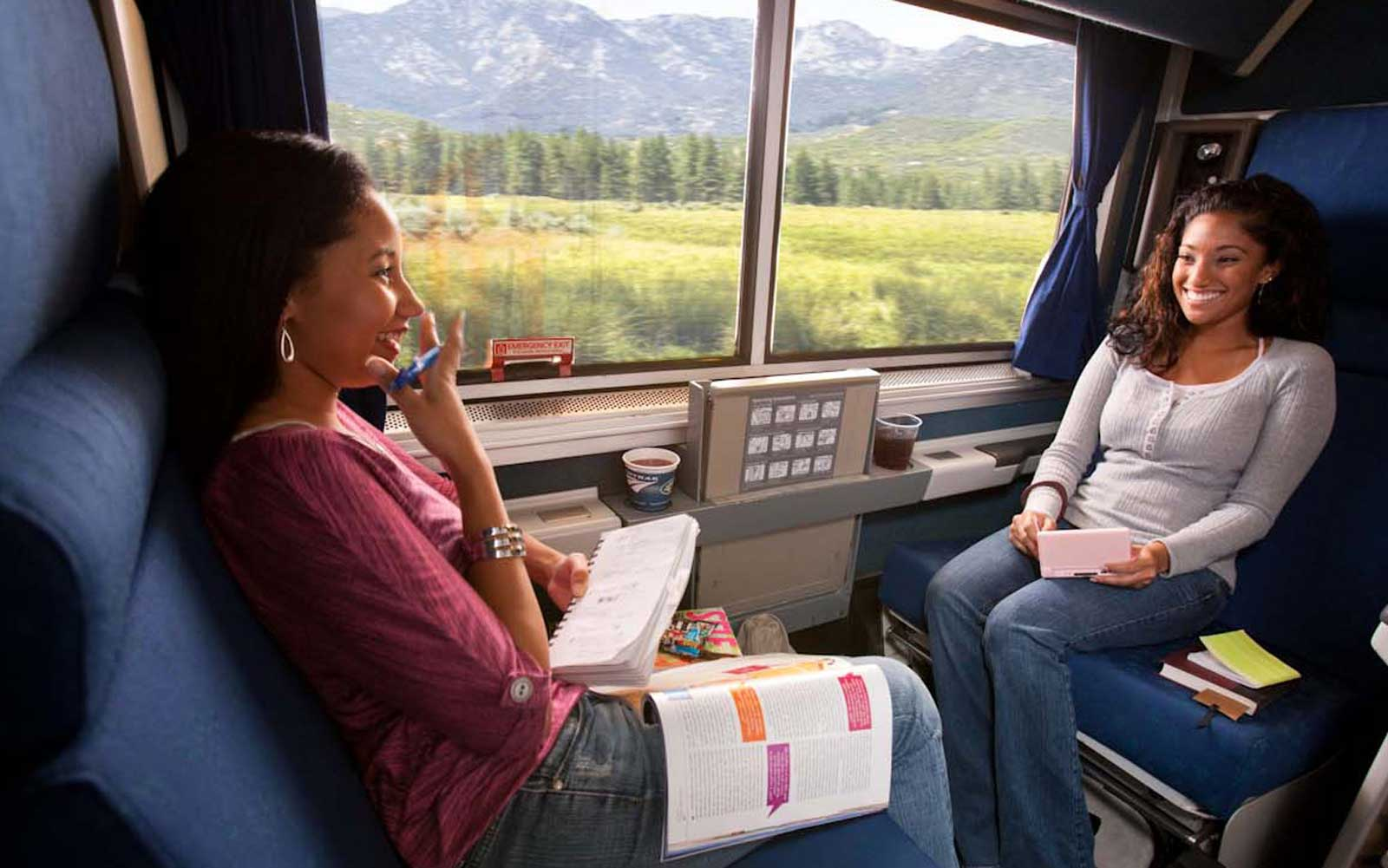 Amtrak is offering a 2-for-1 sale on its private roomettes.