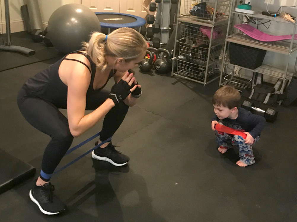 See Pregnant Carrie Underwood Enlist the Help of Son Isaiah, 3½, to Tie Her Shoes: 'I Got It!'