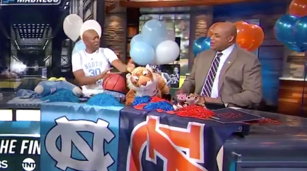 Charles Barkley's Reaction is the Best Part About Auburn Beating North Carolina
