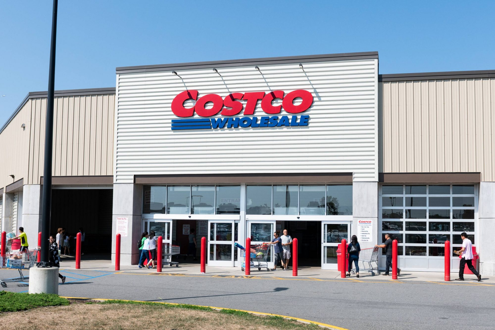 Costco store in Teterboro, New Jersey
