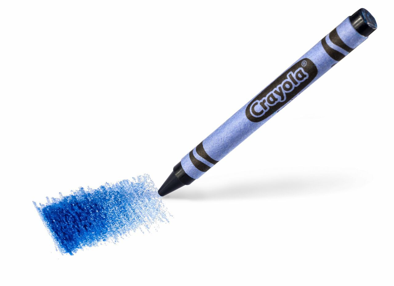 Crayola needs your help naming its brand-new blue color crayon.