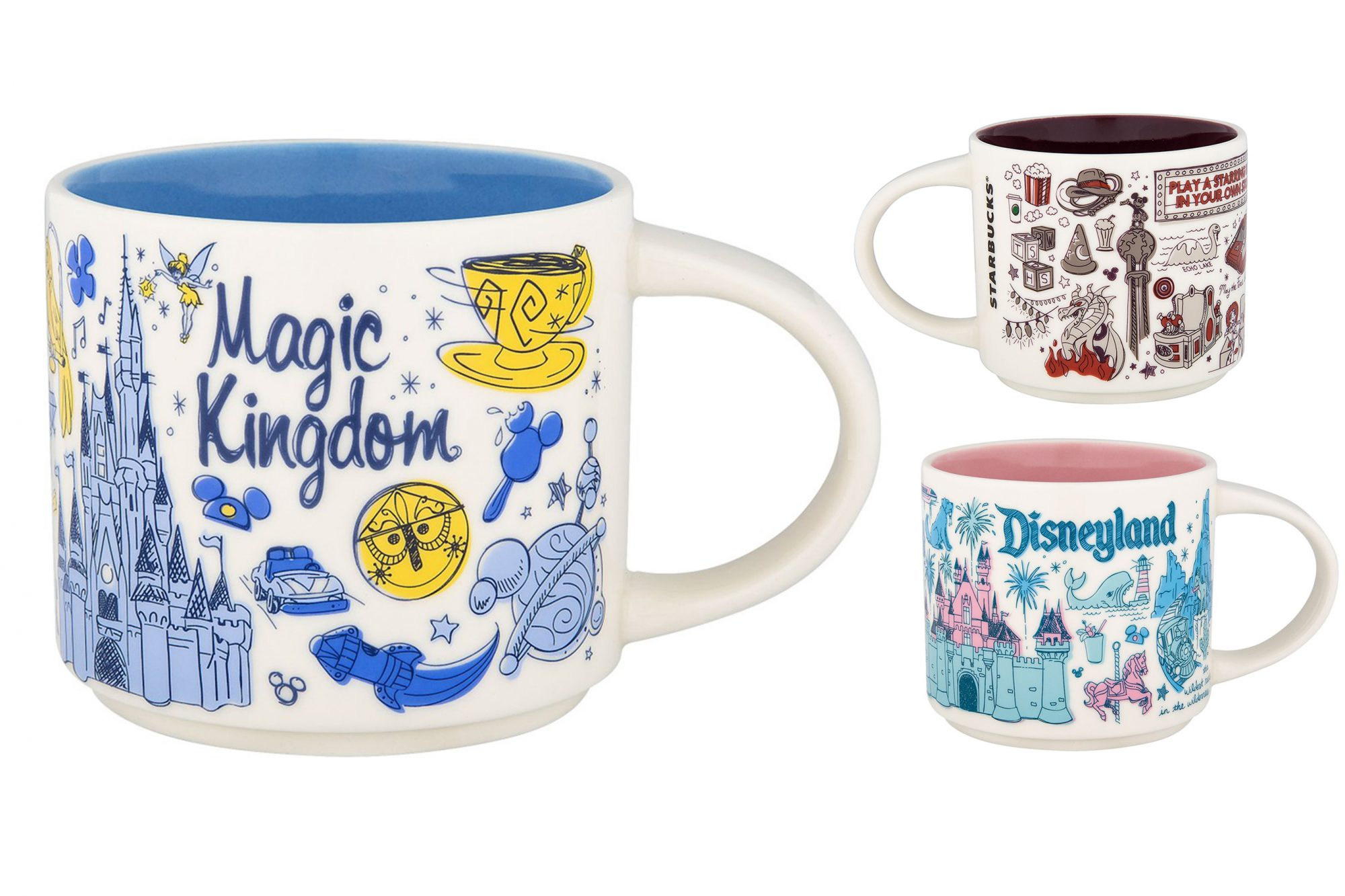 Disney and Starbucks Release New Retro Mug Collection: Here's Where and How to Get Them