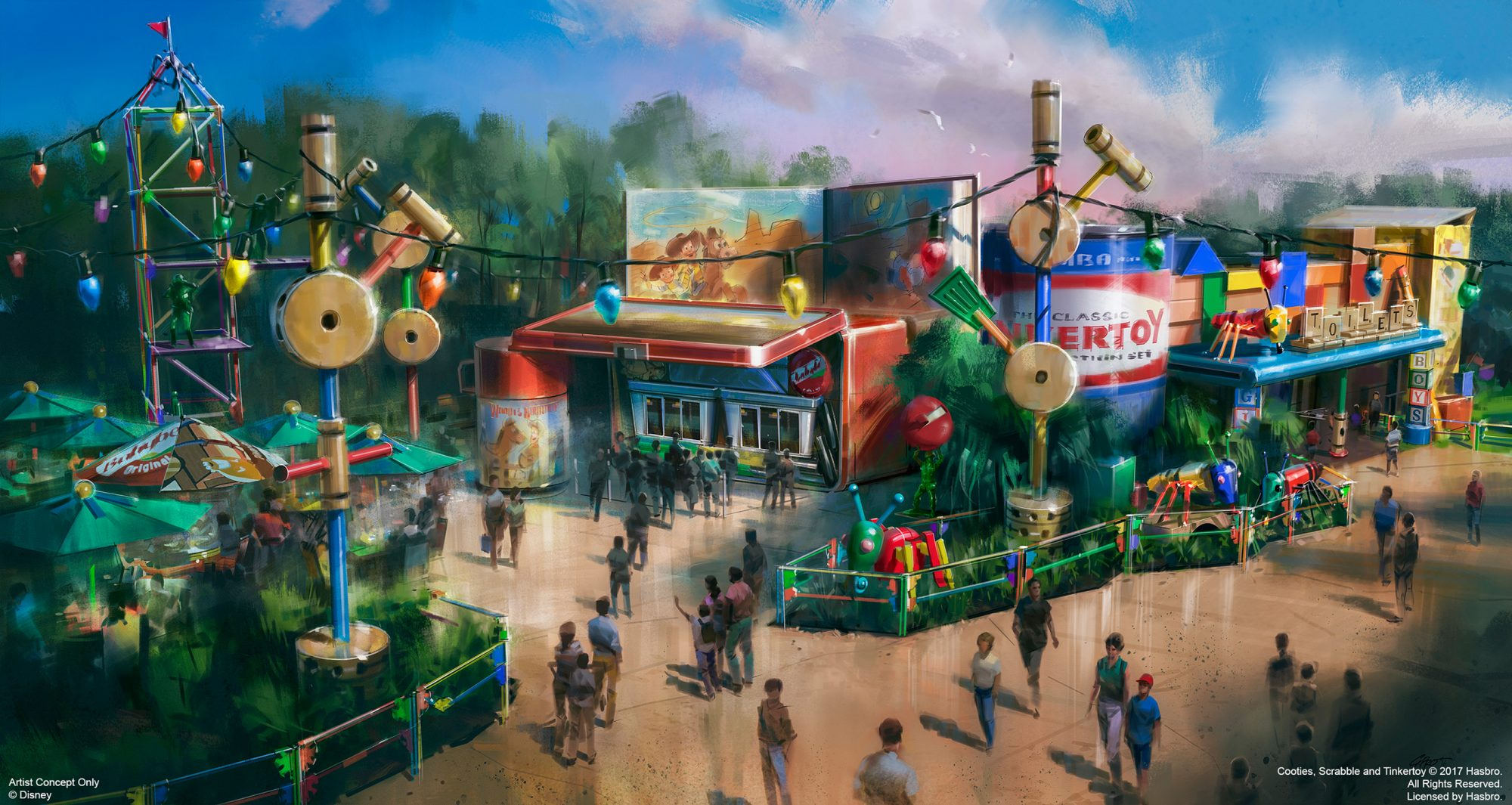 Get a First Look at Walt Disney World's Toy Story Land Restaurant