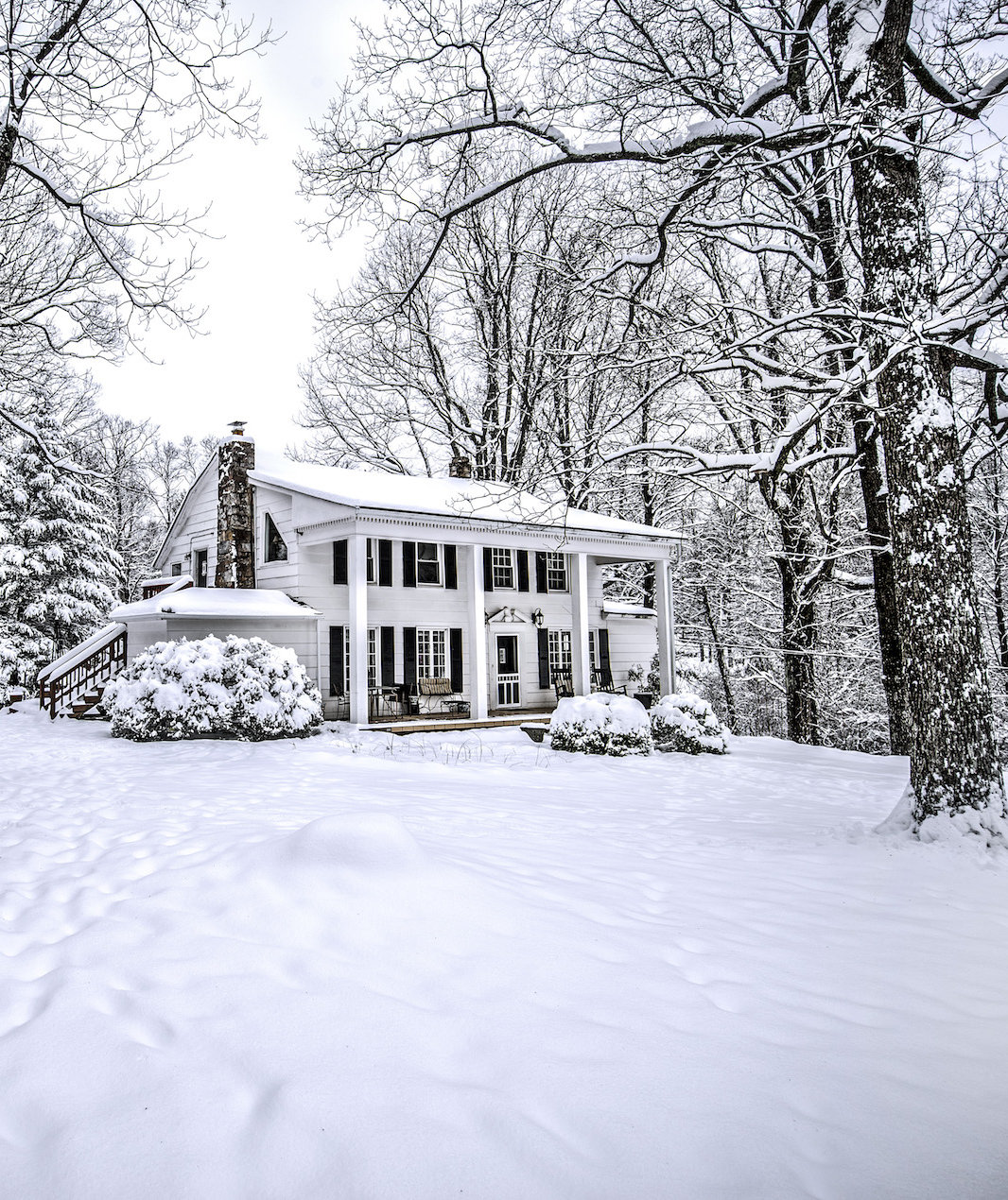This Is How Cold and Snowy This Winter Will Be, According to the Farmers' Almanac