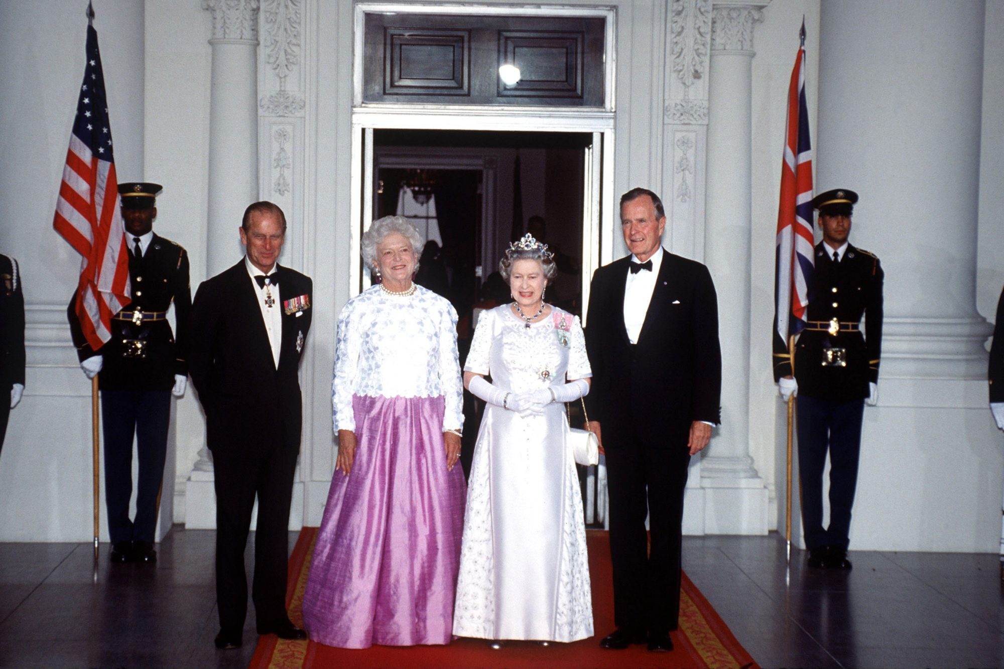 Queen Elizabeth Remembers George H.W. Bush — Who She Knighted in 1993 — with 'Great Fondness' george-bush1