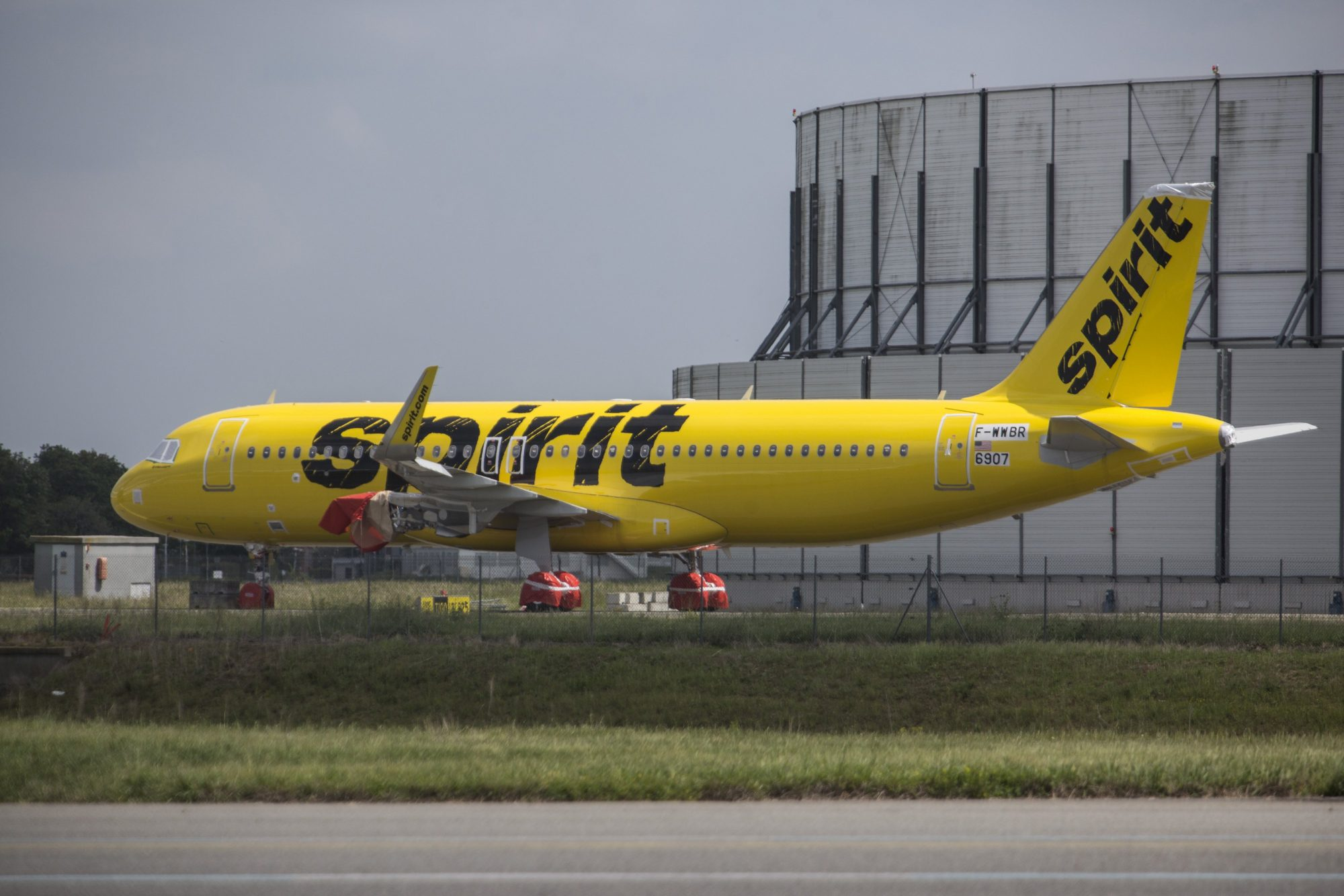 Spirit Airlines is trying to improve its on-time performance.