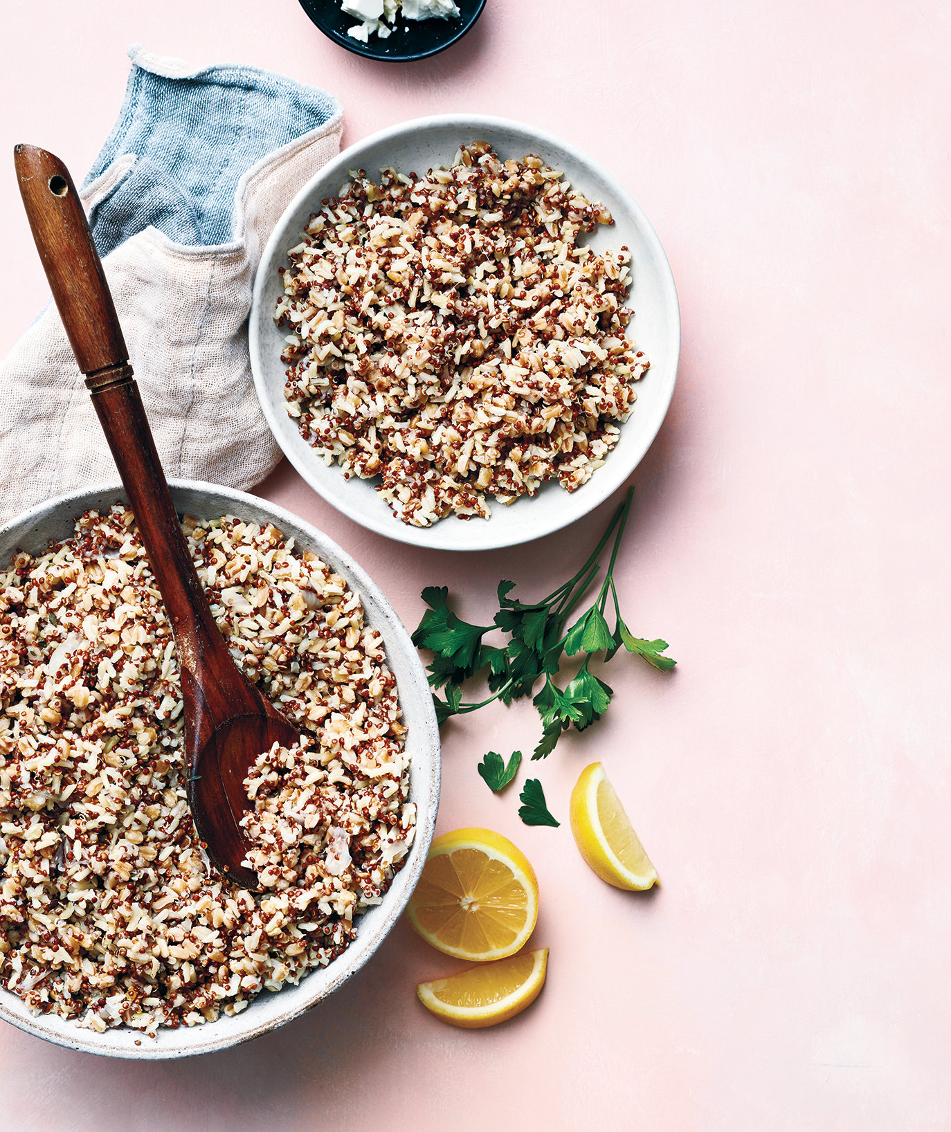 The Secret to Cooking Three Grains at Once (With Perfect Results)