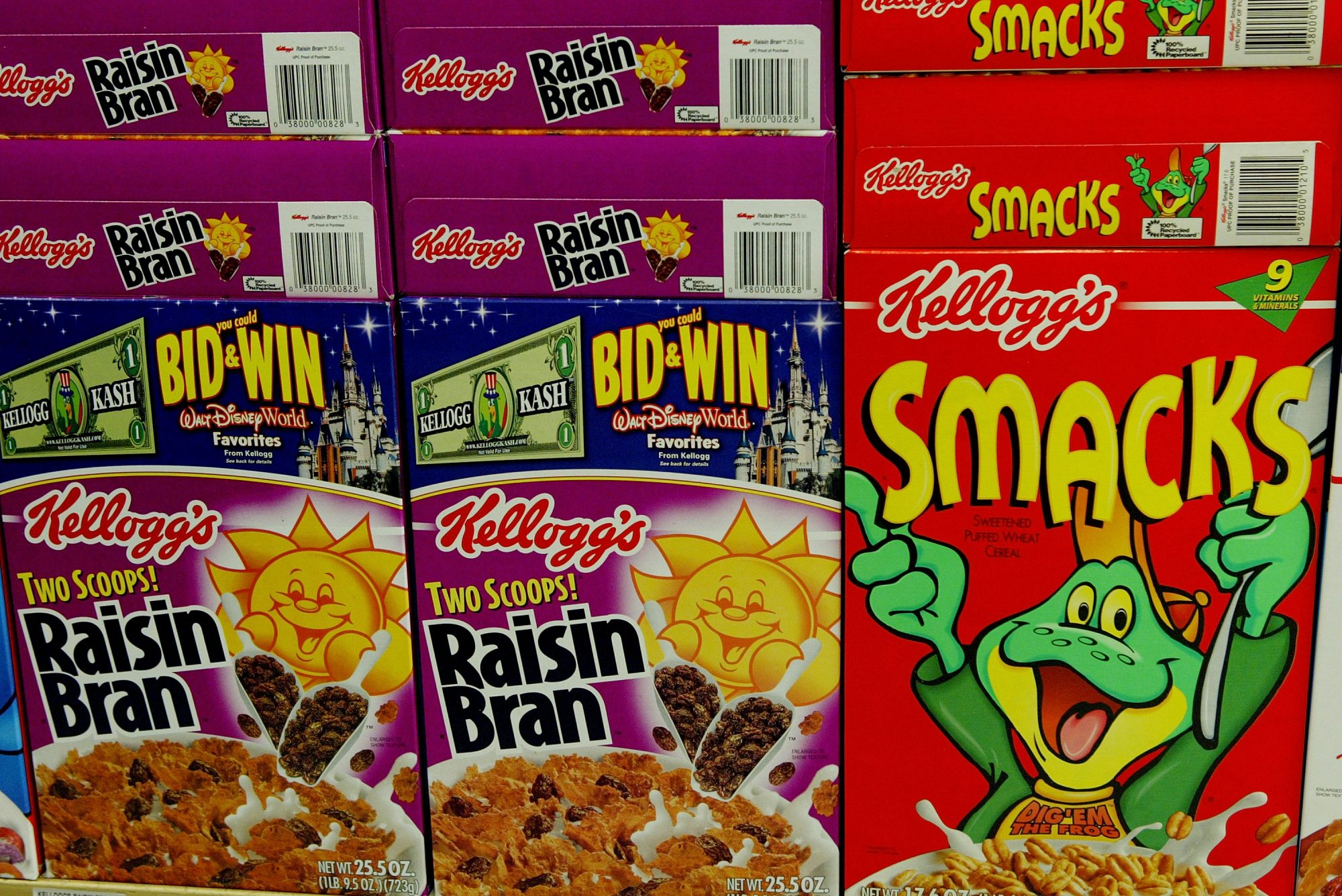 Kellogg's Recalls Honey Smacks