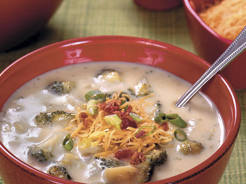 [RECIPE_LINK  1144131   Baked Potato-and-Broccoli Soup ]
