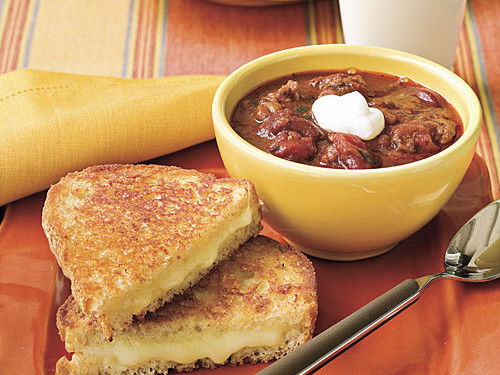 Grilled Cheese and Chili