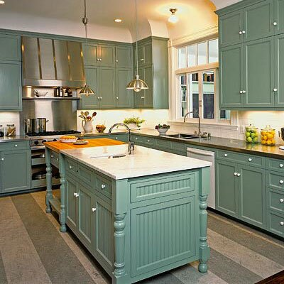 Try This Idea Color Your Cabinets Southern Living