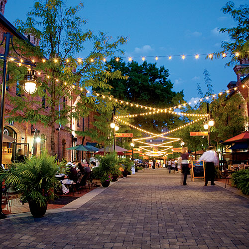 Durham, North Carolina's Brightleaf Square