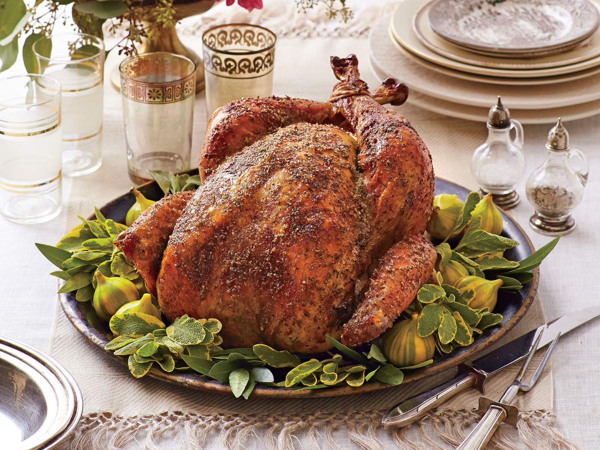Dry Brined-Herb Roasted Turkey