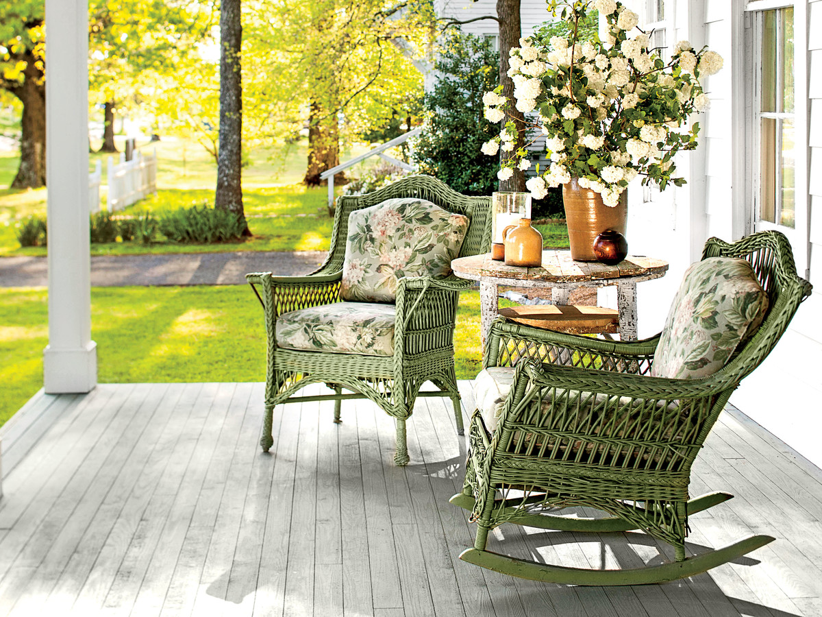 This Is The Best Size For A Porch Southern Living