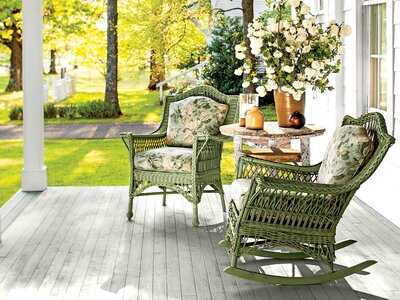 This Is the Best Size for a Porch - Southern Living