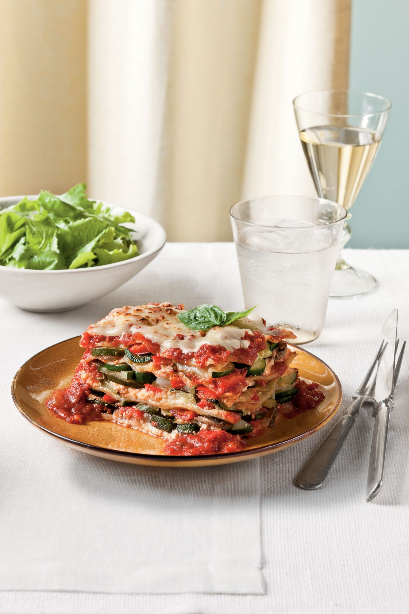 Fresh Vegetable Lasagna
