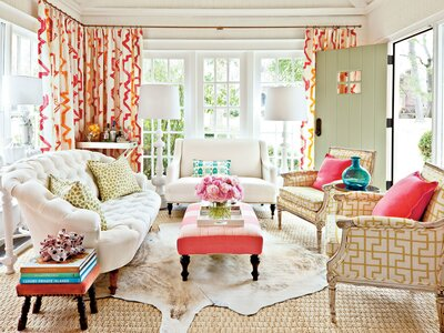 Decorating Sunrooms Punch Up Your Palette Source Guide Southern