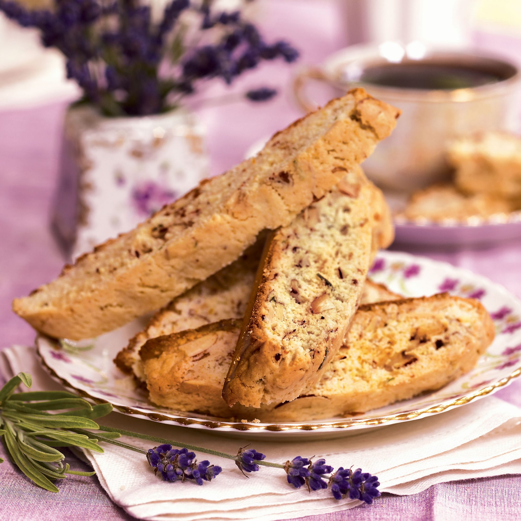 Best Cookies Recipes: Biscotti With Lavender and Orange Recipes
