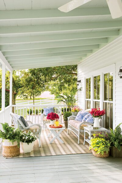 Spring Porch Decorating Ideas - Southern Living