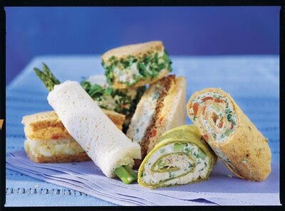 Favorite Finger Sandwiches for a Luncheon - Southern Living