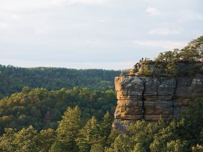 Chimney Top Rock Of Red River Gorge Kentucky