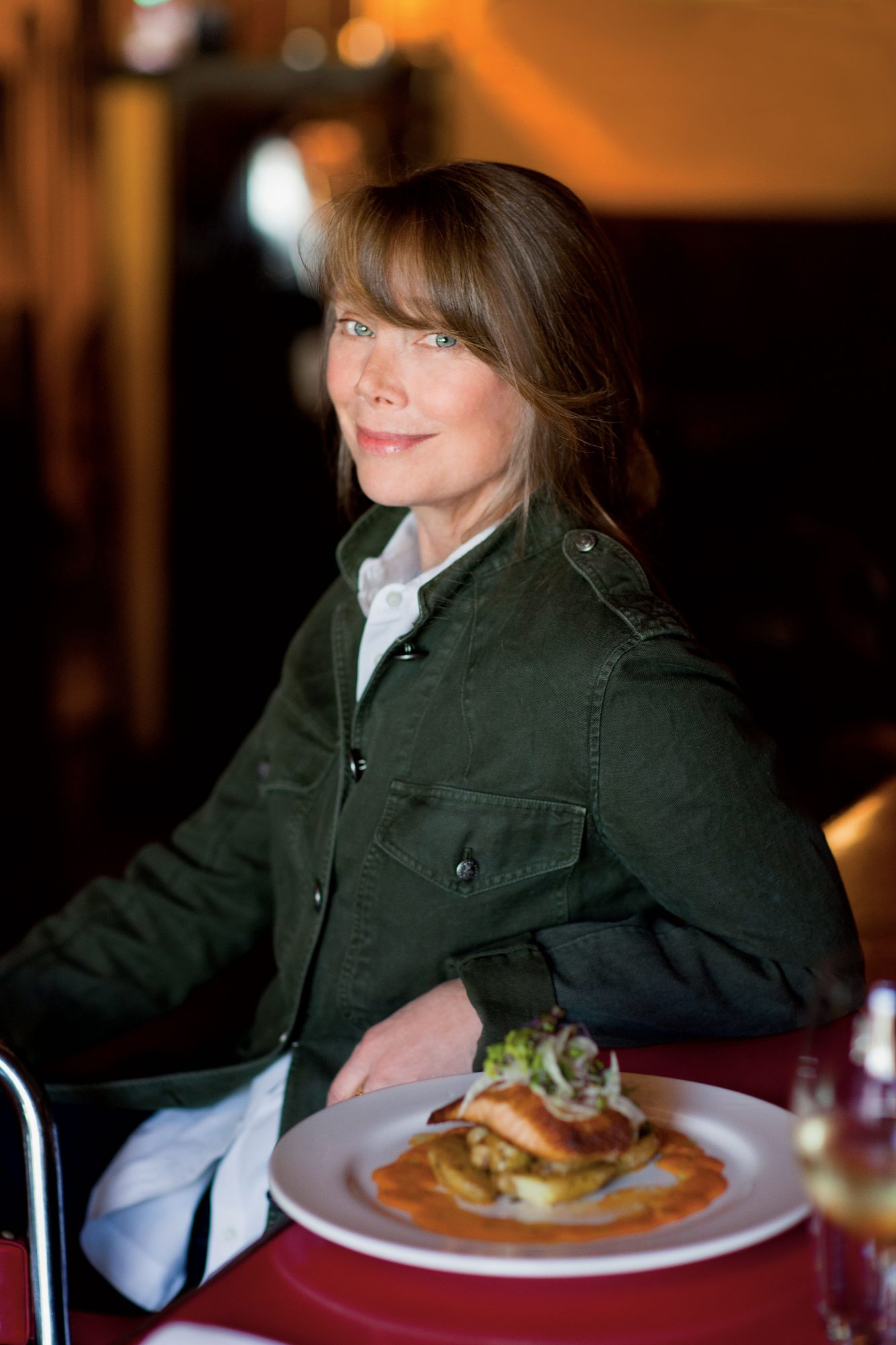 Dishing with Sissy Spacek