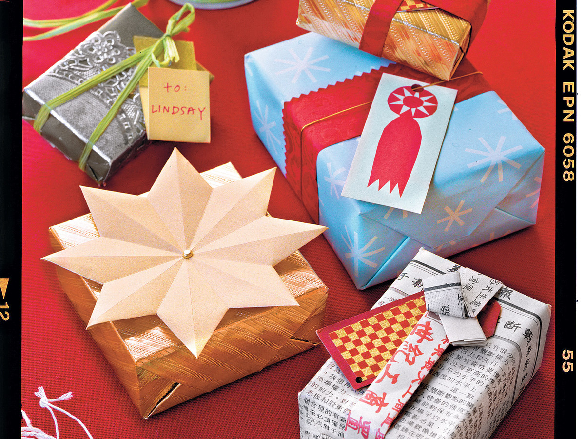 Try This With Wrapping Paper