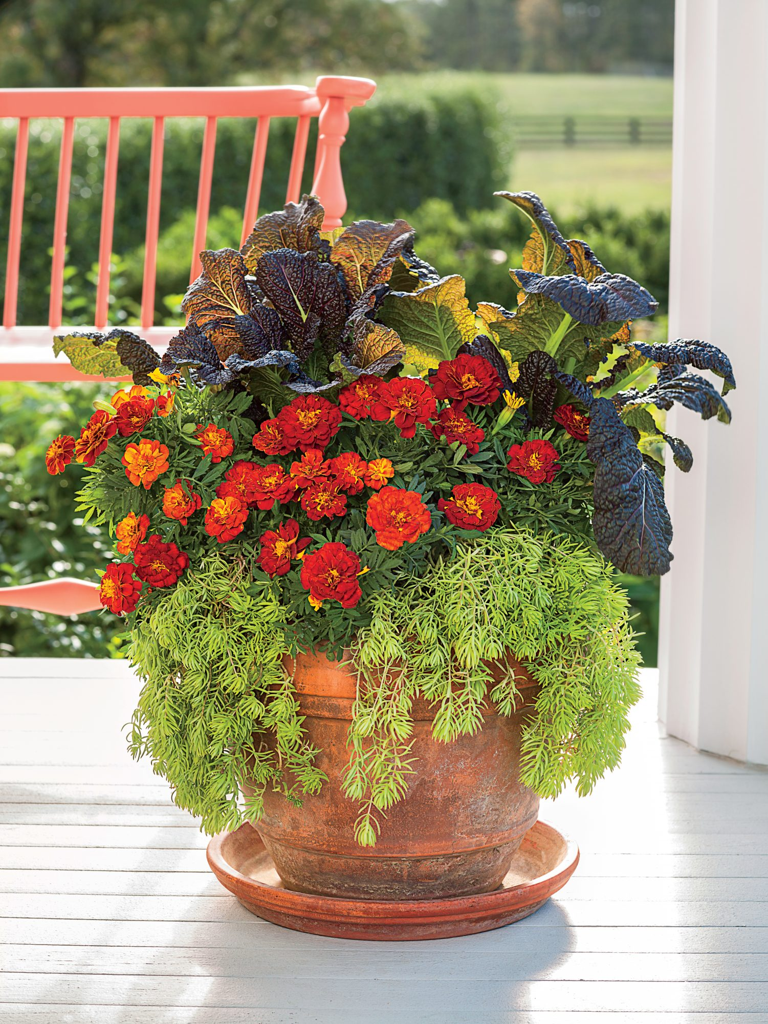 Brighten Up a Porch