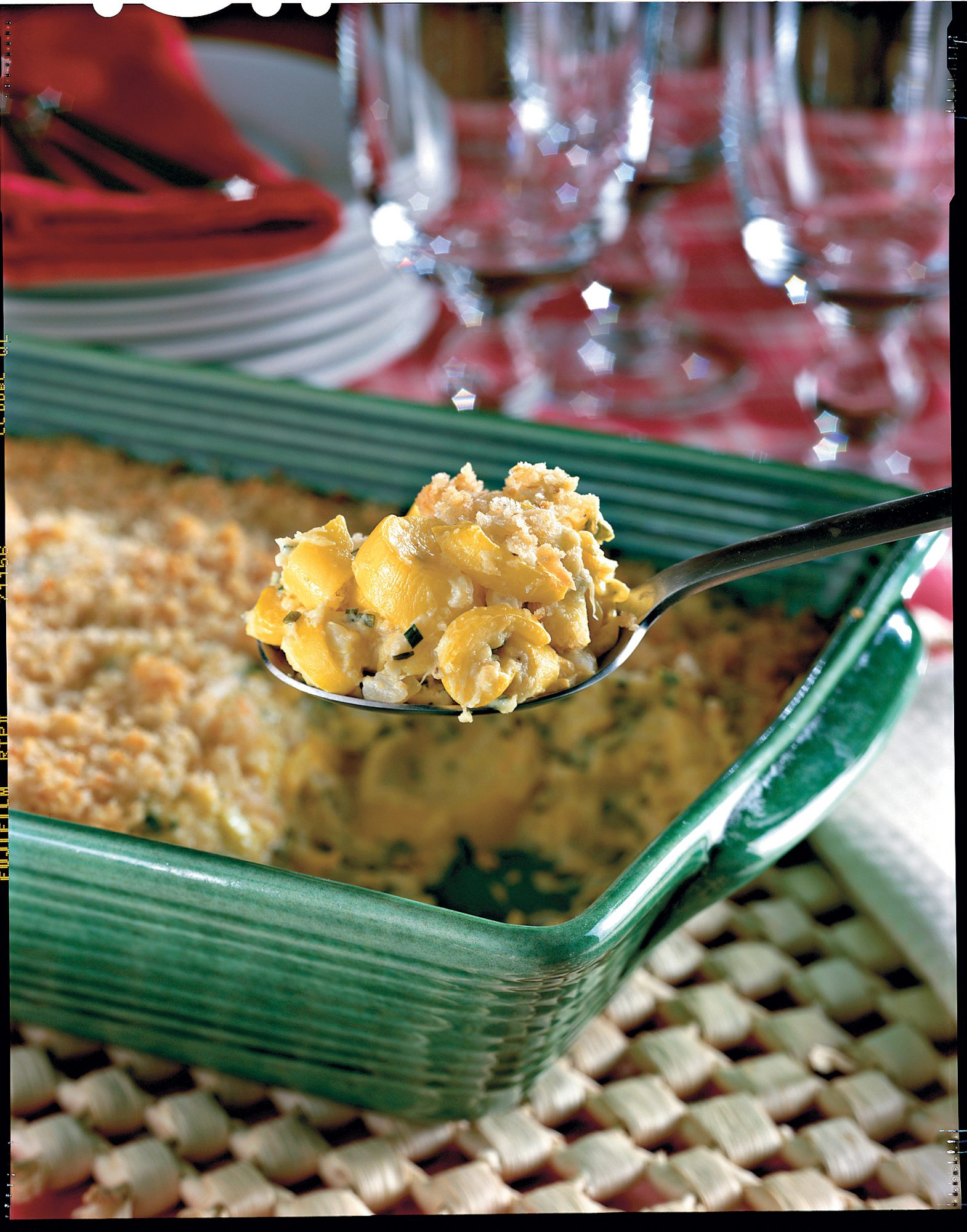 Thanksgiving Dinner Side Dishes: Two-Cheese Squash Casserole Recipes
