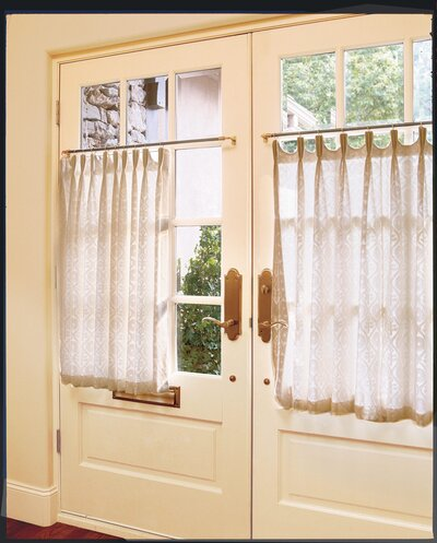 Simply Dressed Cafe Curtains - Southern Living