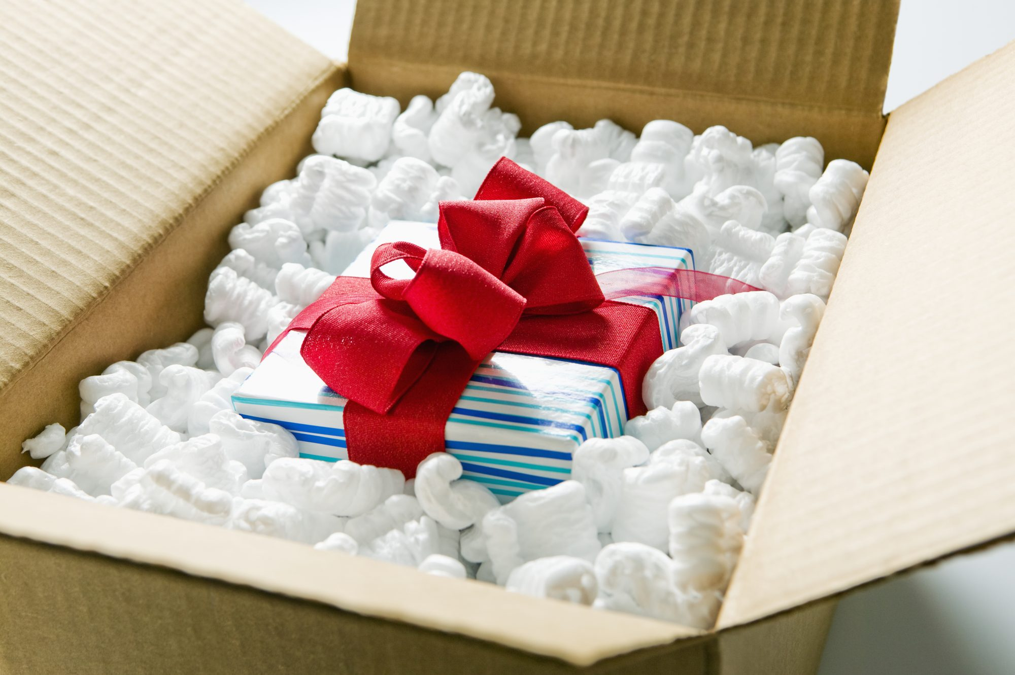Holiday Gift Package Delivery
