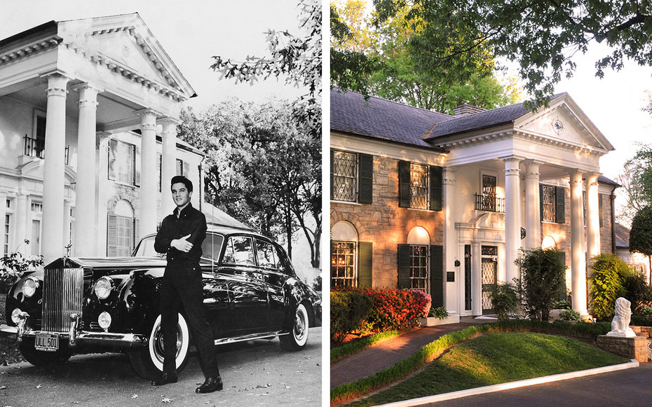 Graceland Then and Now