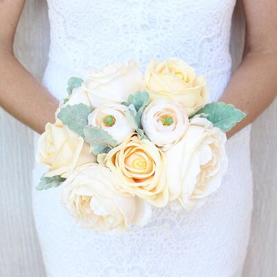 Silk Flowers Wedding Bouquets.Is It Okay To Use Artificial Flowers At Your Wedding