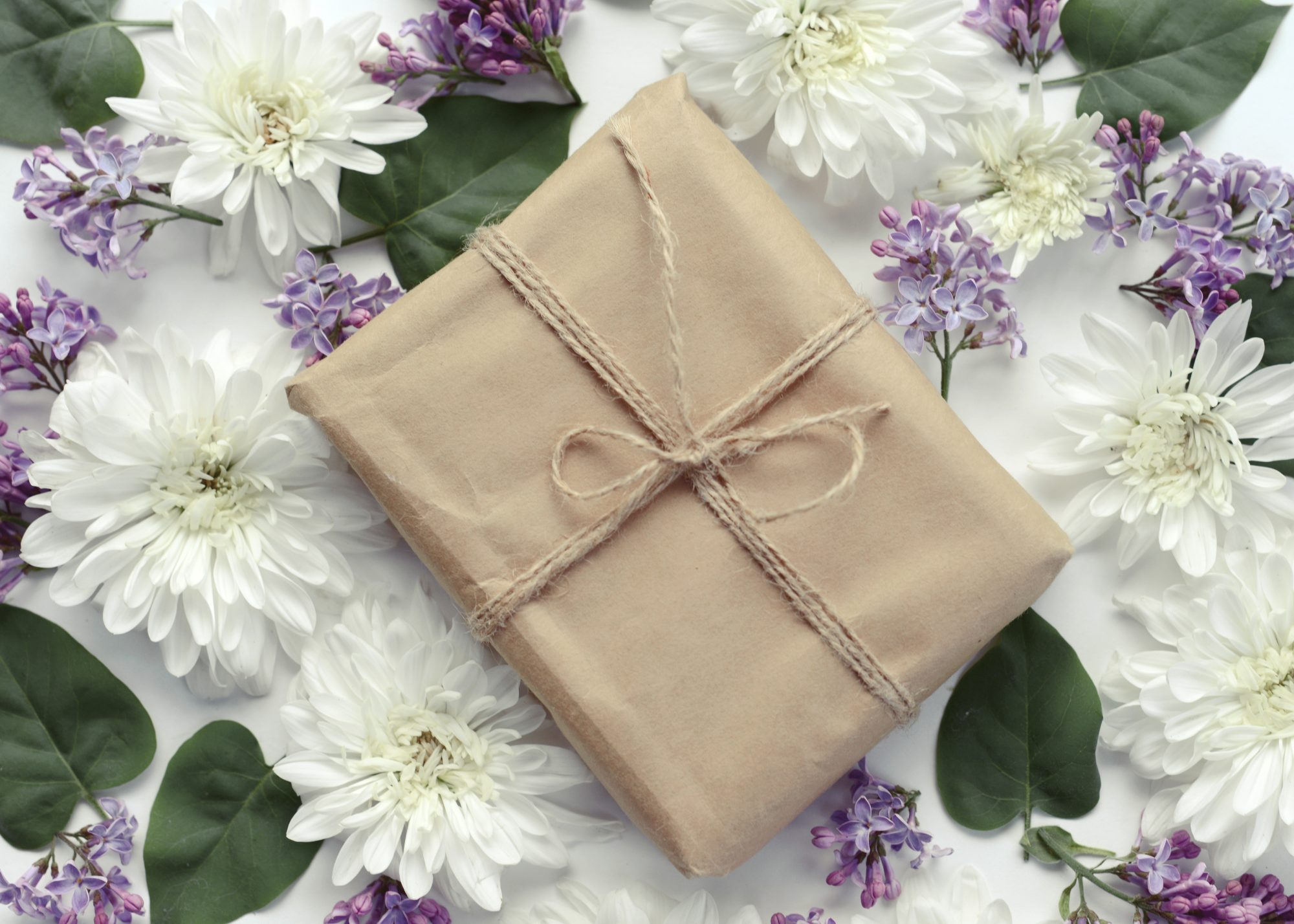 Wedding Present and Flowers