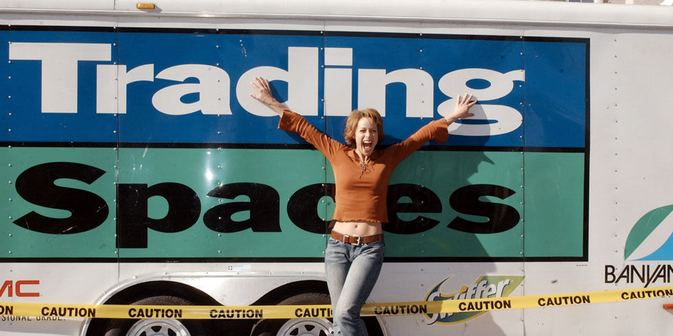 Trading Spaces Sign
