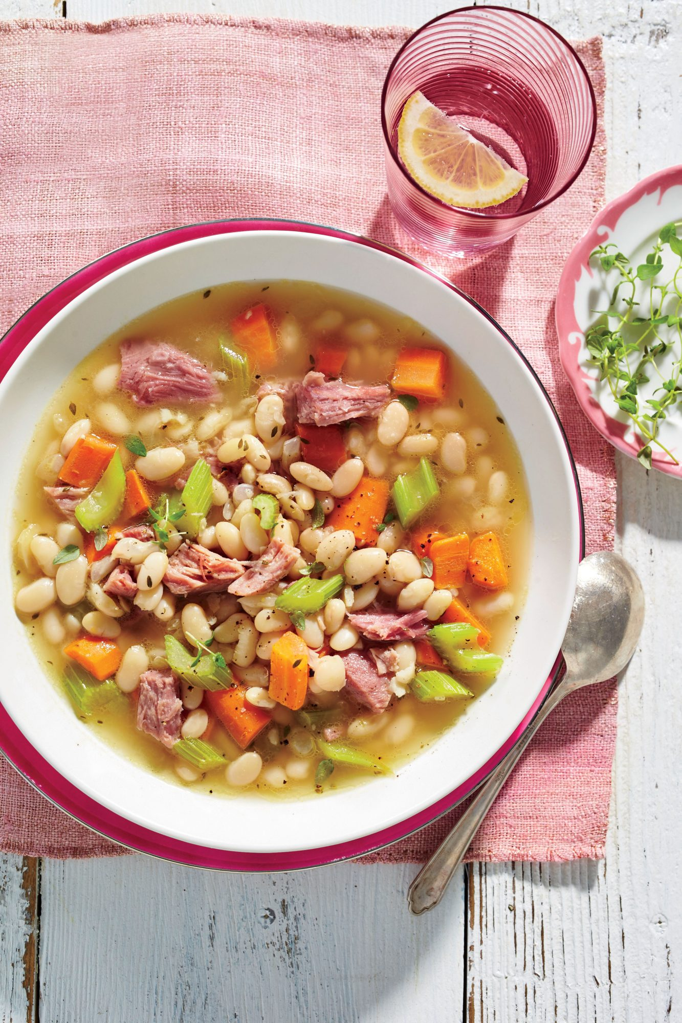 Ham-and-Bean Soup
