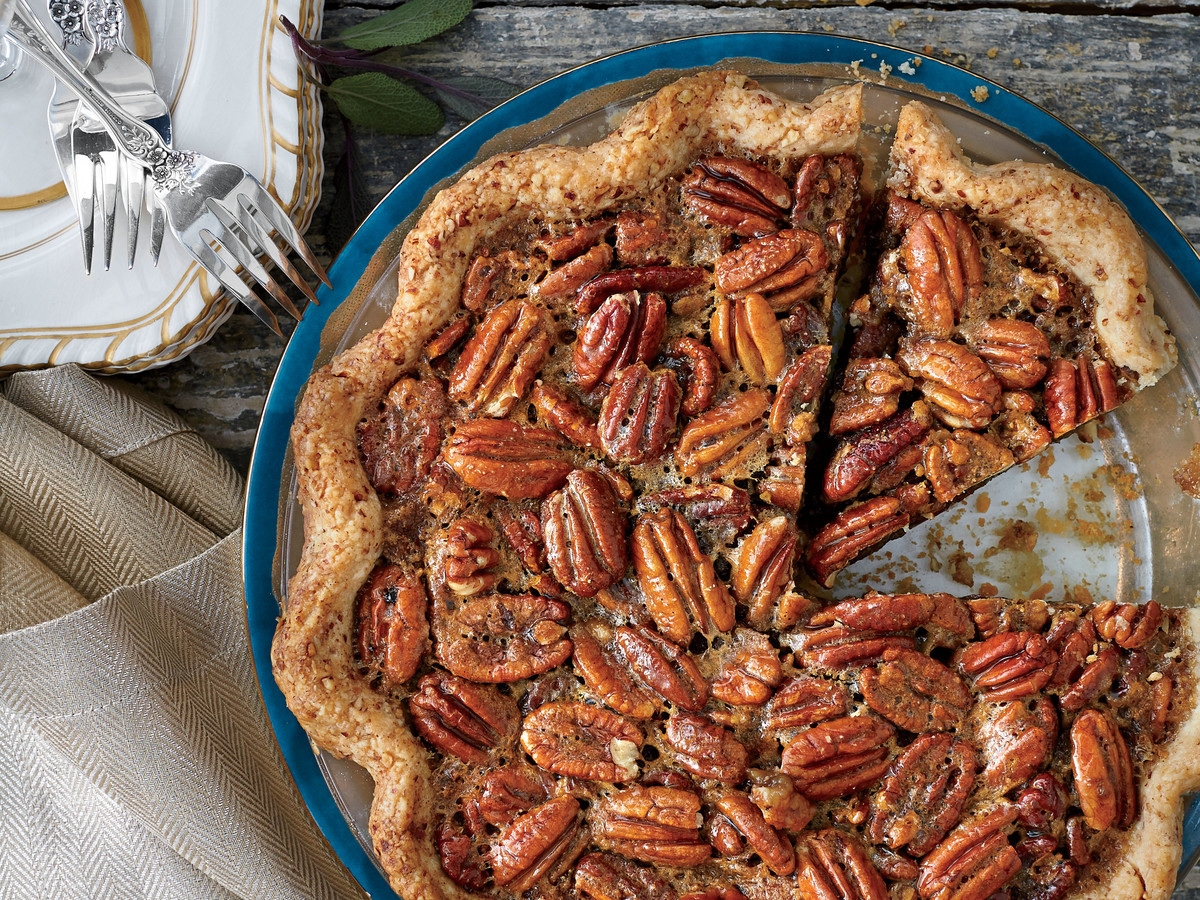 Tennessee Whiskey-Pecan Pie