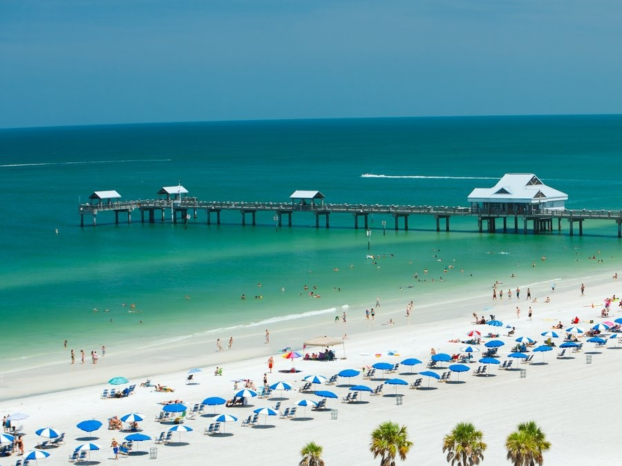 Clearwater Florida Beach Pier