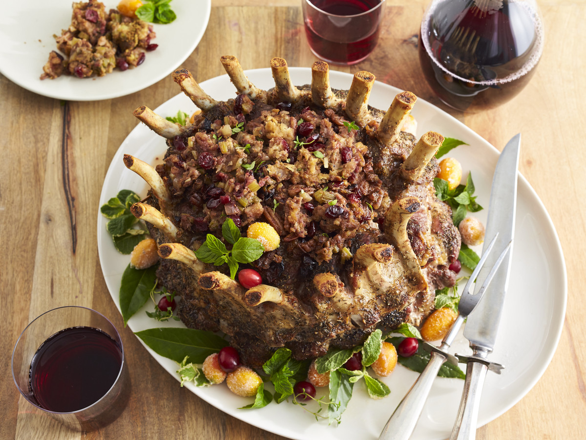 Cranberry-Pecan Stuffing Recipe