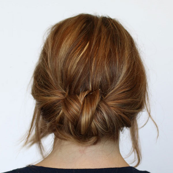 Two-Minute Braided Bun