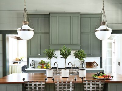 Sage Green Kitchen