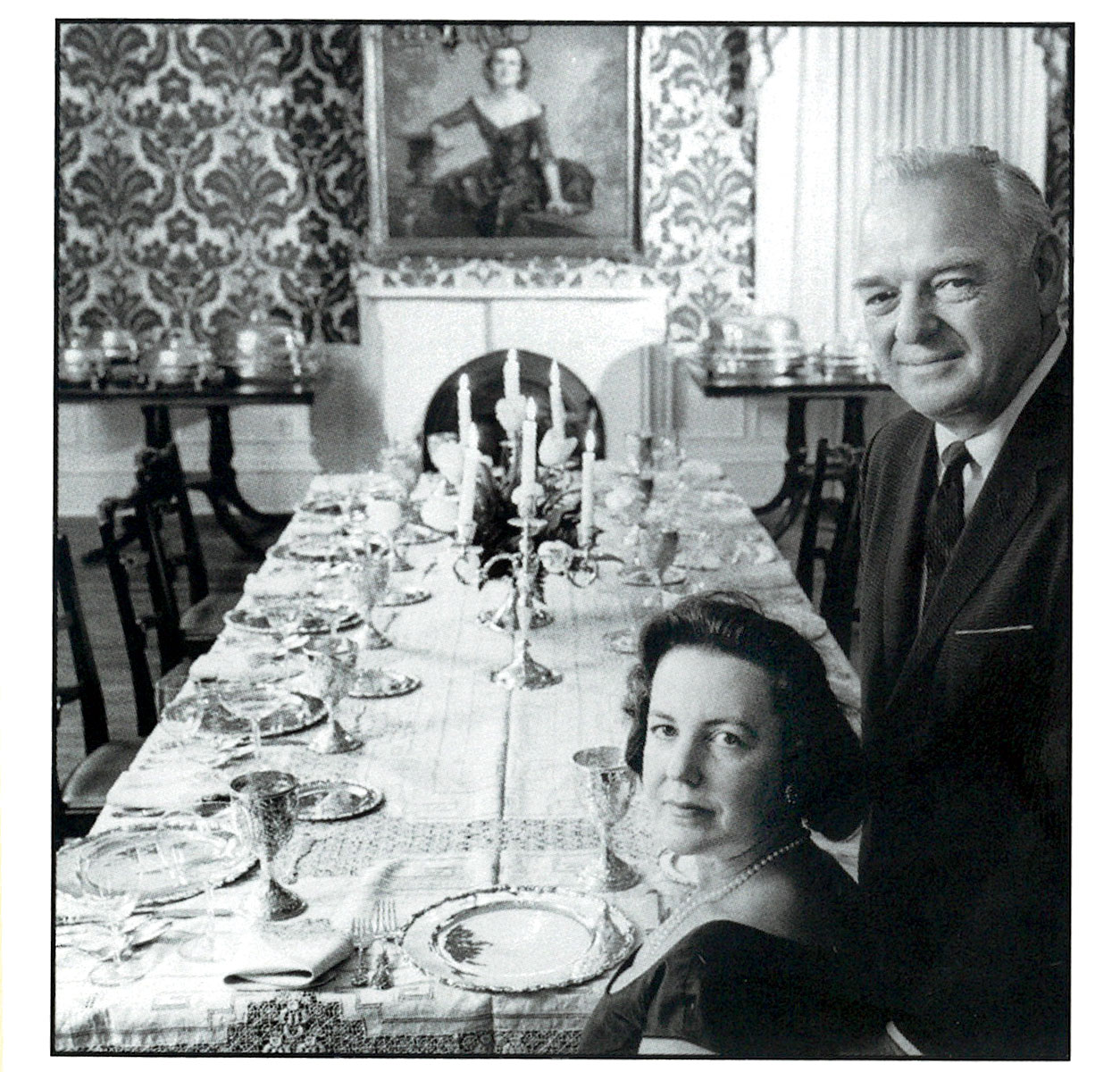 Justine Smith and her husband, Dayton