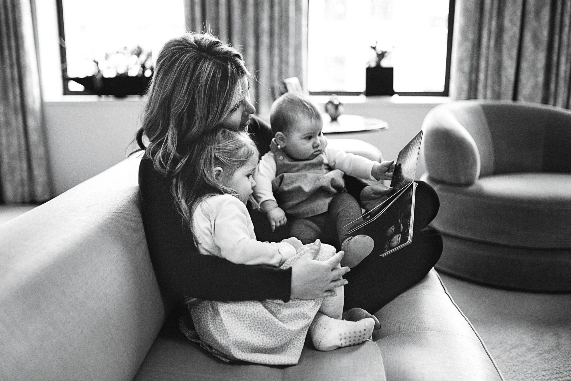 Jenna Bush Hager with Daughters Mila and Poppy