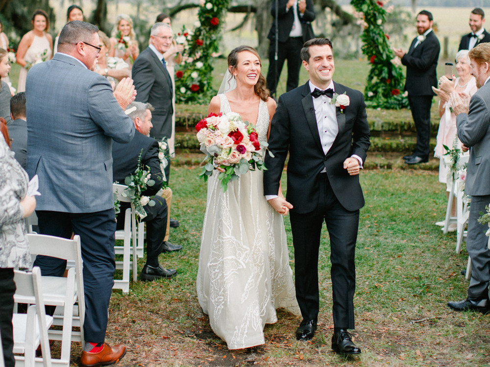Spanish Moss Wedding Ceremony