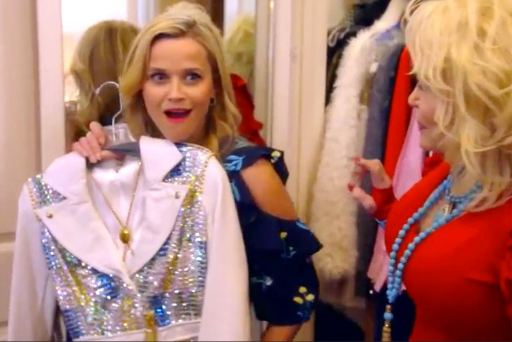 Reese Witherspoon Raids Dolly Parton's Closet