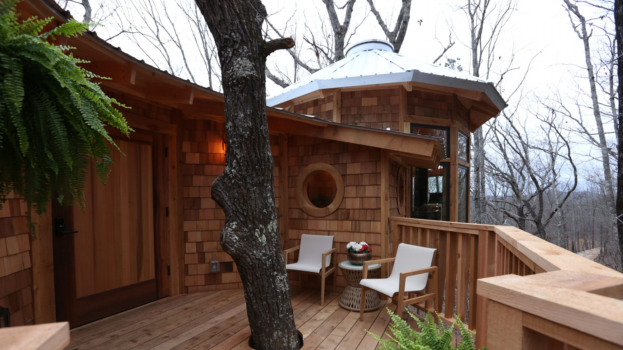 Treehouse Exterior One