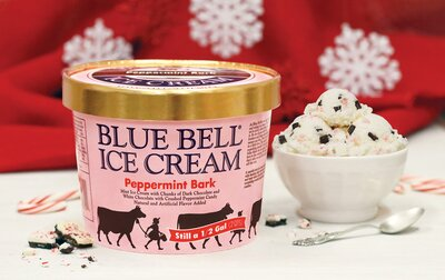 Christmas Flavors.Blue Bell Just Unveiled Two New Holiday Flavors Southern